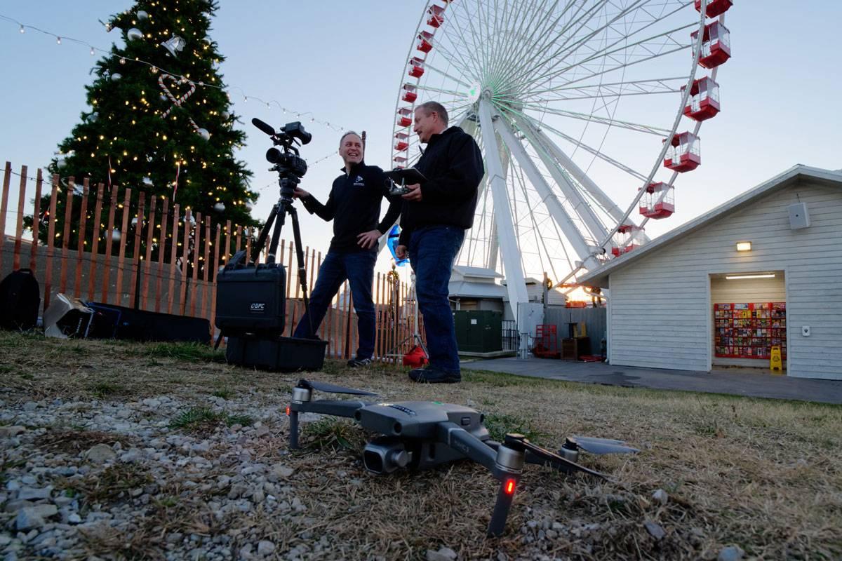Digital Lunchbox video team on-location in Branson, MO